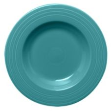 Homer Laughlin  462107 Fiesta Turquoise 21 oz Pasta Bowl - 12 / CS