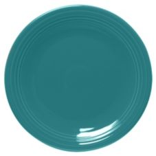 "Homer Laughlin  467107 Turquoise 11-3/4"" Round Chop Plate - 12 / CS"