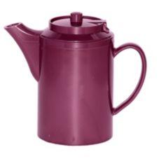 Service Ideas TS612BU Plastic 16 Oz.Burgundy Teapot - 6 / CS