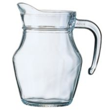 Cardinal E7258 Arcoroc 16 oz Pitcher w/ Pour Lip - 12 / CS