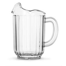 Vollrath 6010-13 Traex® Clear 3 Lipped 60 Oz. Carb-X Pitcher
