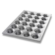 Chicago Metallic Bakeware Glazed Oversized Large Crown 24-Muffin Pan
