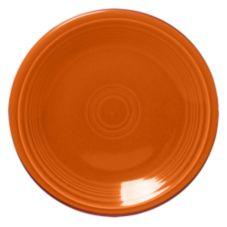 "Homer Laughlin  464325 Fiesta® Tangerine 7-1/4"" Plate - 12 / CS"