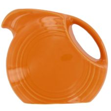 Homer Laughlin China Fiesta® Tangerine Small 28 oz Disk Pitcher