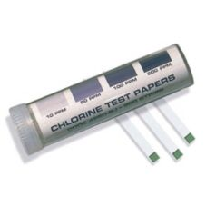 Chlorine Test Strip Kit, 200 Strips/Kit