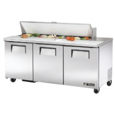 True TSSU-72-16 2-Door 16-Pan 19 Cu Ft S/S Sandwich & Salad Unit