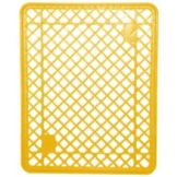 "Jeb Sales YBKP-301 Yellow 21-3/4"" x 27-1/2"" Plastic Bread Tray"