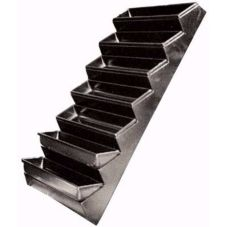 Step Display Tray, Black, Asparagus