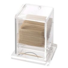 Cal-Mil® 295 Clear Dispenser For Unwrapped Toothpicks