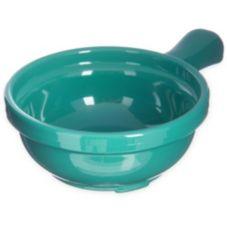 Carlisle® 700609 8 Oz. Meadow Green Handled Soup Bowl - Dozen