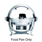 Steelite 5370S403 S/S Food Pan For Round Chafing Dish