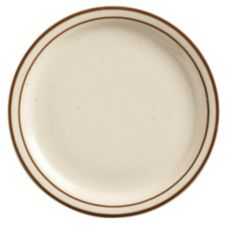 "World Tableware DSD-8 Ultima Desert Sand NR 9"" Plate - 24 / CS"