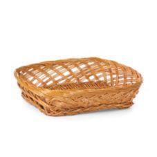 """Willow Specialties 8900S.10 10-1/2"""" x 8"""" Brown Willow Basket"""