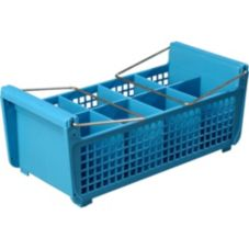 Carlisle® C32P214 OptiClean™ Flatware Basket with Handles