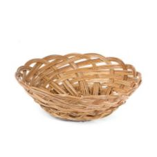 "Willow Specialties 53081.1 10"" Round Coco Midrib Bowl"