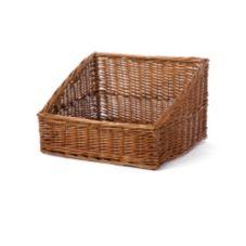 """Willow Specialties 83201 17"""" x 15"""" Cutaway Display Basket"""