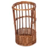 "Willow Specialties 83205 10-1/2"" Round Willow Display Basket"