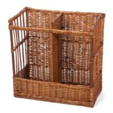 "Willow Specialties 83208 20-3/4"" x 10-1/4"" 2-Comp. Display Basket"