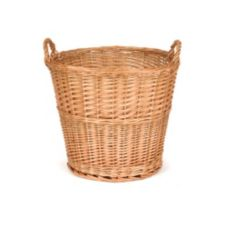 "Willow Specialties 18-1/2"" Round Willow Display Basket"
