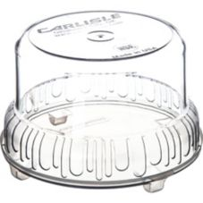 Carlisle® 703907 2 Qt. Clear Gourmet Bowl with Lid
