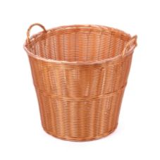 "Willow Specialties 44926 Round 16"" x 18"" Poly-Line Basket"