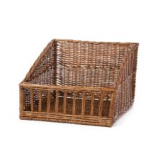 "Willow Specialties 83202 17-3/4"" x 16-1/2"" Cutaway Display Basket"