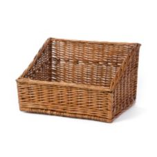 "Willow Specialties 83200 15-3/4"" x 12-1/2"" Cutaway Display Basket"