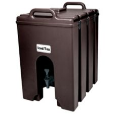 Cambro 1000LCD131 Dark Brown 11.75 Gal. Insulated Beverage Server
