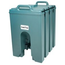 Cambro 1000LCD401 Slate Blue 11.75 Gal. Insulated Beverage Server