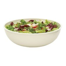 Cambro® RSB18CW148 Camwear® White 20.2 Qt. Round Ribbed Bowl