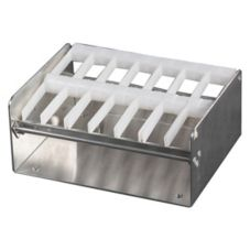 "DayMark 110806 Metal 1"" 7-Slot Label Dispenser"