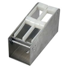 "DayMark Metal 1"" 2-Slot Label Dispenser"
