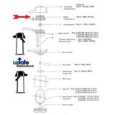 Update International XBE/NP-NU Bellow for NPHI-25-BK Airpot