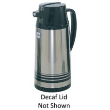 Update International Vacuum Insulated Click Pour 64 oz Decaf Server