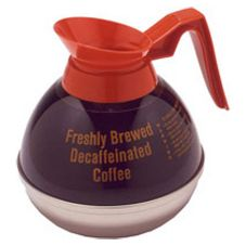 Bloomfield DCF8889O24 S/S and Plastic Coffee Decanter w/ Orange Handle