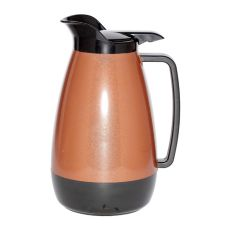 Service Ideas Thermo-Serv® 2 liter Copper / Black Flip Top Server