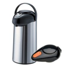 Service Ideas S/S 3 liter Pump Lid Decaf Airpot