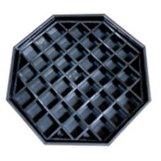 Service Ideas DT45 Octagonal Drip Tray for APR Series Airpot Racks