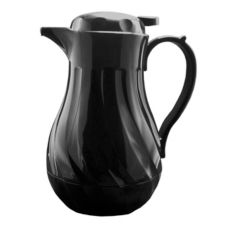 Update International FB3022/40 42 Oz. Insulated Black Swirl Carafe