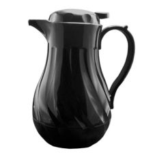 Update International FB3022/20 20 Oz. Insulated Black Swirl Carafe