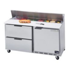Beverage-Air SPED60-16-2 Elite Refrigerated Counter w/ 16 Pan Openings