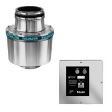 "Salvajor 1.5-HP Disposer with 18"" Cone Assembly and Auto Reverse"