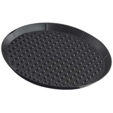 "H.S. Inc. HS1033 Charcoal 12"" Pizza Pleezers™ Pan - Dozen"