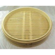 Bamboo Steamer, Base Only, 20""