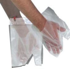 Pak-Sher® 5486 Sher-Mitt® Kitchen Prep Clear Mitt - 2000 / CS