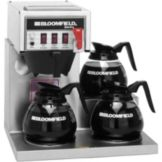 Bloomfield 8572D3F Koffee King® 3-Warmer Coffee Brewer with Faucet