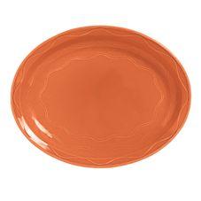 "Syracuse 903034008 Cantina® Cayenne 11-5/8"" Platter - 12 / CS"