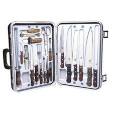 Victorinox 46052 Deluxe 24-Piece Gourmet Set with Rosewood Handles