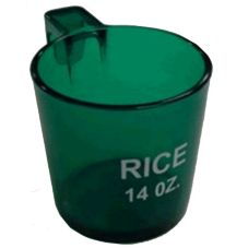 "Measuring Cup w/ ""Rice"" Imprint, 14 oz"