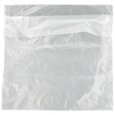 "Handgards 303679606 Clear 10"" x 8.5"" Full Saddle Deli Bags - 2000 / CS"